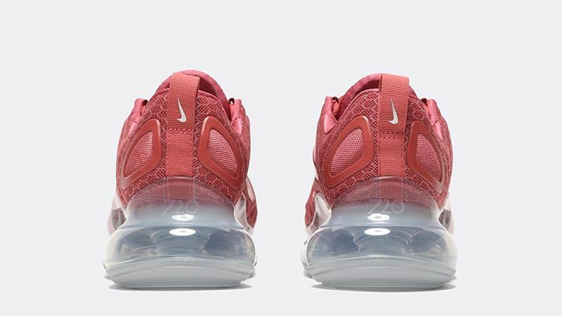 Nike Air Max 720 Glam Dunk Redwood back