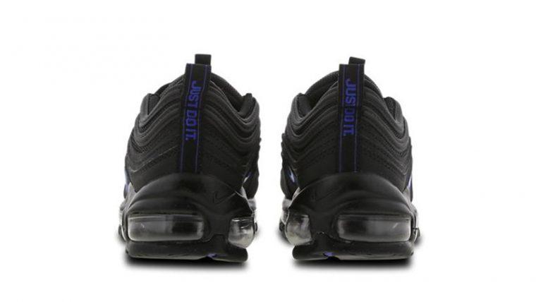 Nike Air Max 97 GS Black Blue CT6025-001 back thumbnail image