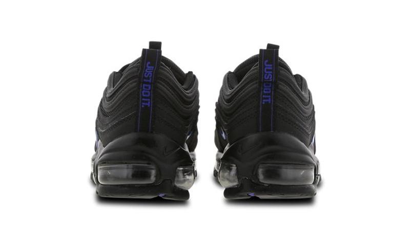 Nike Air Max 97 GS Black Blue CT6025-001 back