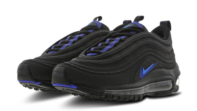 Nike Air Max 97 GS Black Blue CT6025-001 front