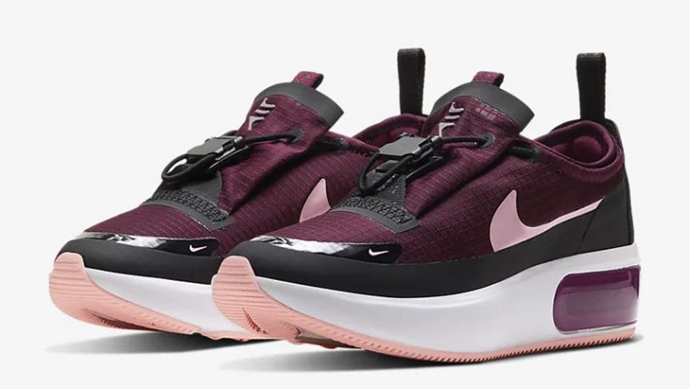 Nike Air Max Dia Winter Night Maroon BQ9665-604 front thumbnail image
