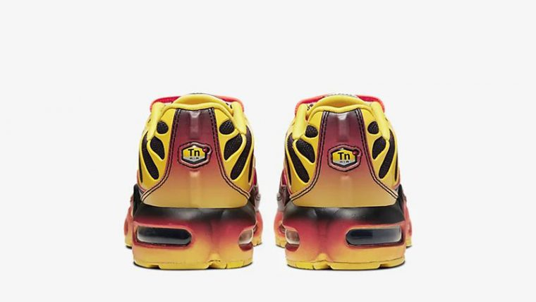 Nike Air Max Plus QS Yellow Crimson CT0962-700 back thumbnail image