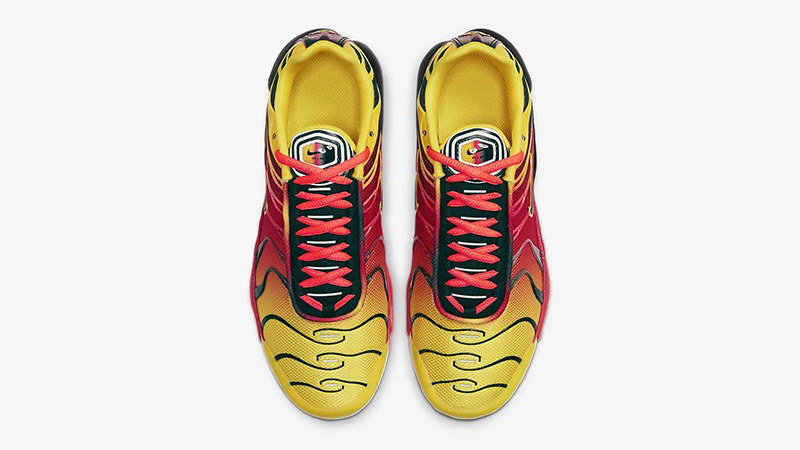 Nike Air Max Plus QS Yellow Crimson CT0962-700 middle