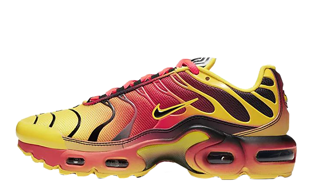 Nike Air Max Plus QS Yellow Crimson CT0962-700 thumbnail image