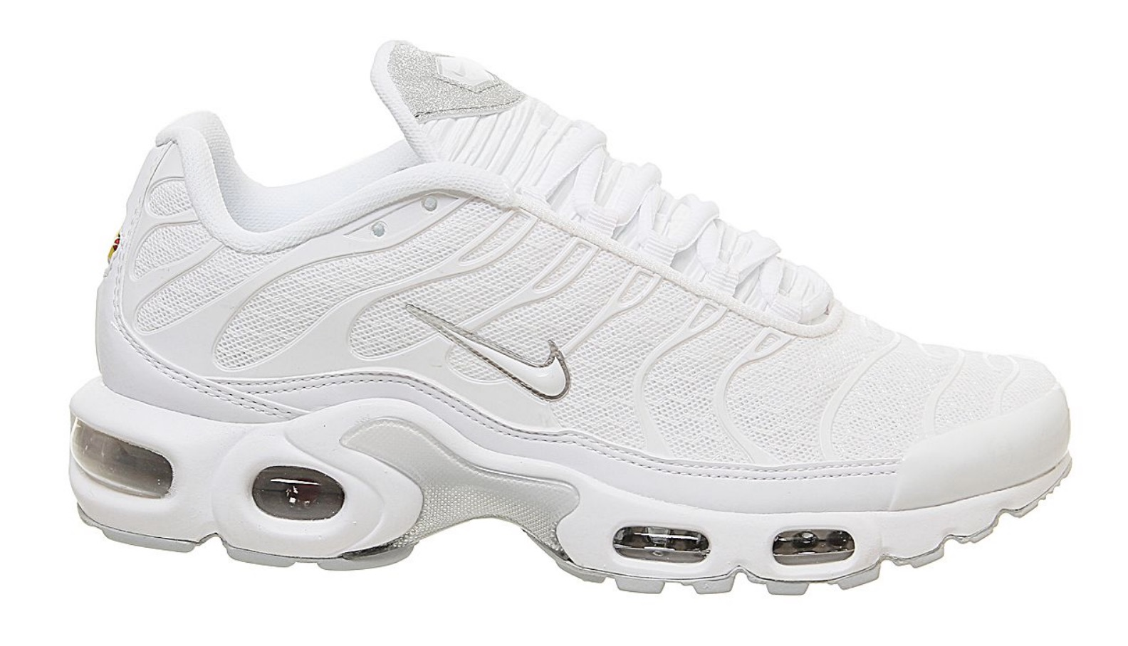 Nike Air Max Plus White Glitter