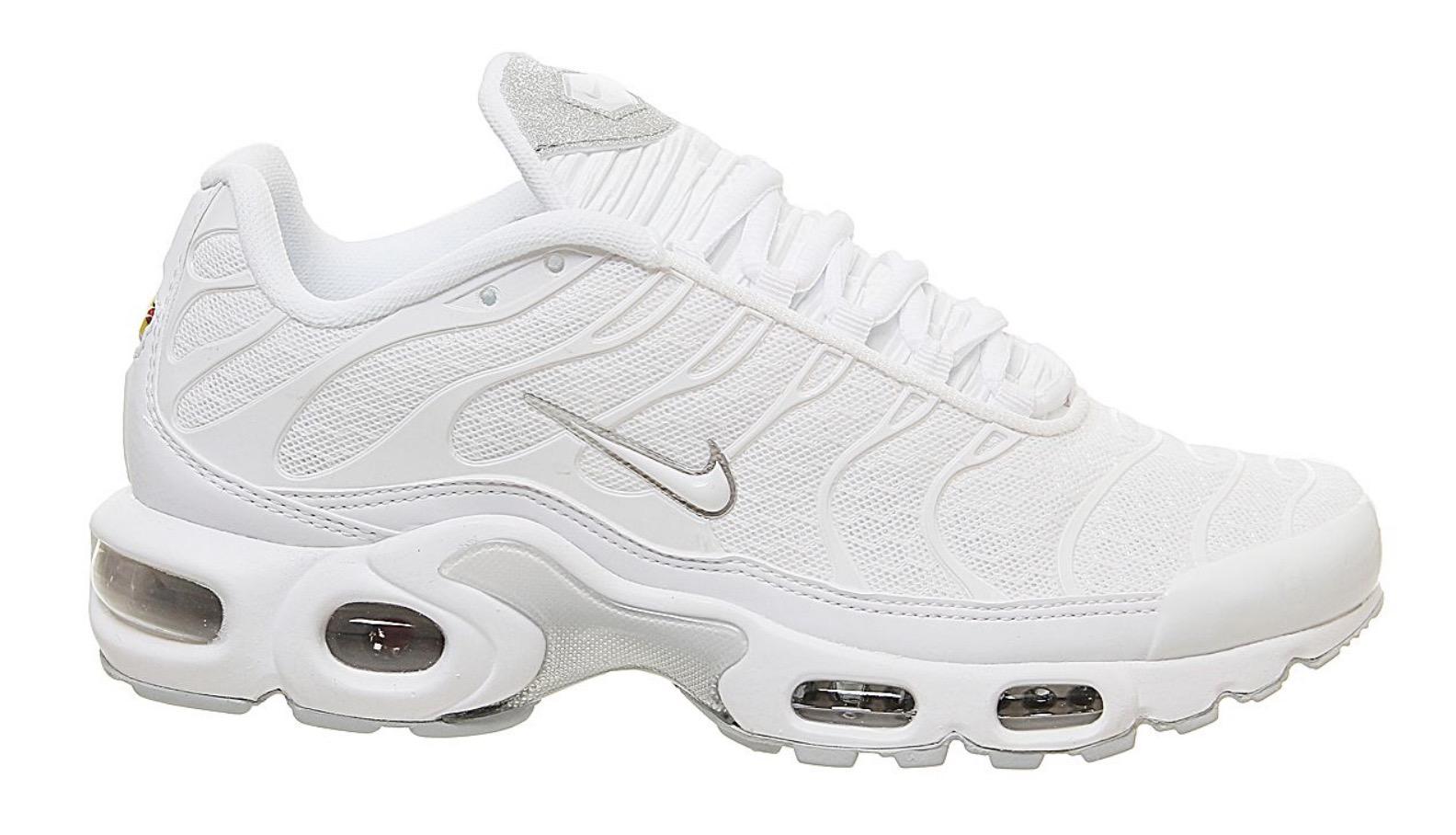 Nike Air Max Plus White Glitter