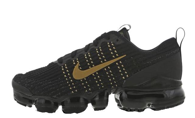 Nike Air VaporMax Flyknit 3 Black Gold BQ5238-004