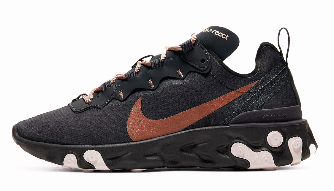 Nike React Element 55 Black Bronze