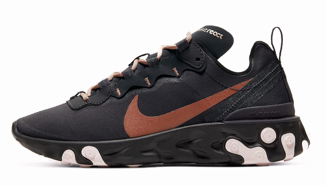 Nike React Element 55 Black Bronze