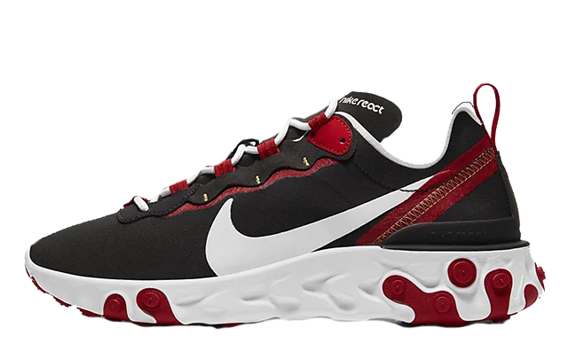 Nike React Element 55 Black Red BQ2728-009