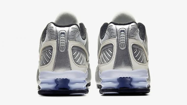 Nike Shox Enigma 9000 Silver CT3450-001 back thumbnail image