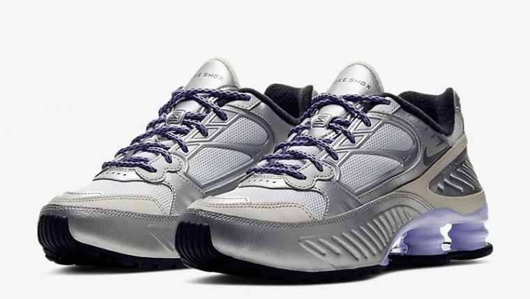 Nike Shox Enigma 9000 Silver CT3450-001 front thumbnail image