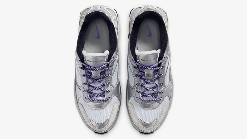 Nike Shox Enigma 9000 Silver CT3450-001 middle
