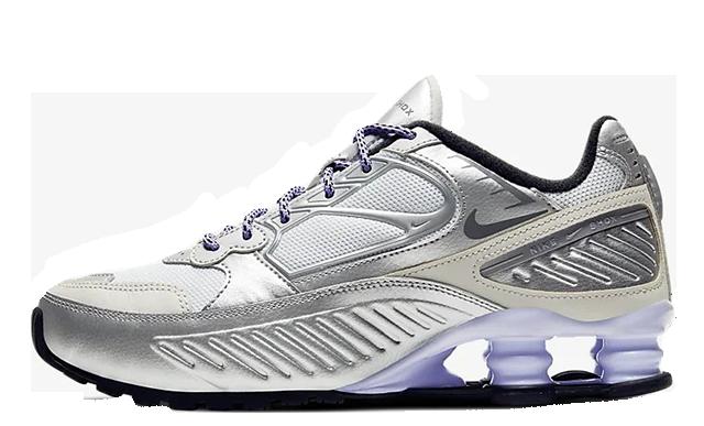 Nike Shox Enigma 9000 Silver CT3450-001