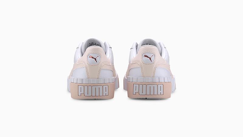 PUMA Cali White Pink 369155-13 back