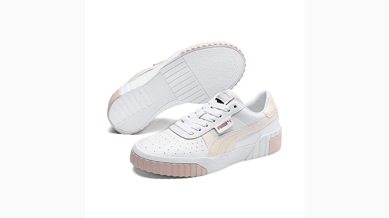 PUMA Cali White Pink 369155-13 front
