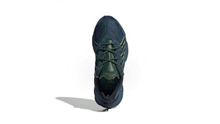 Pusha-T x adidas Ozweego King Push Teal FV2480 back thumbnail image