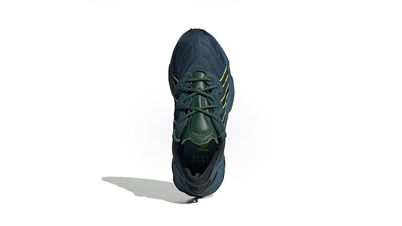 Pusha-T x adidas Ozweego King Push Teal FV2480 back