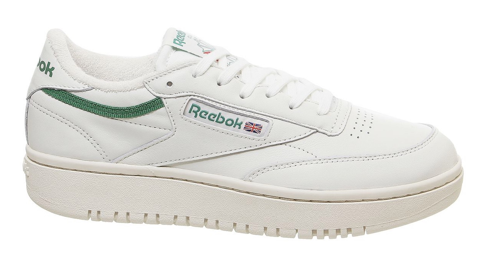 Reebok Club C Double White Green