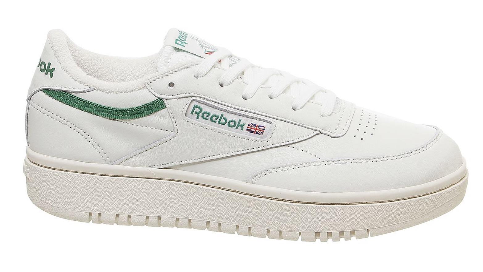 Reebok Club C Double White Green