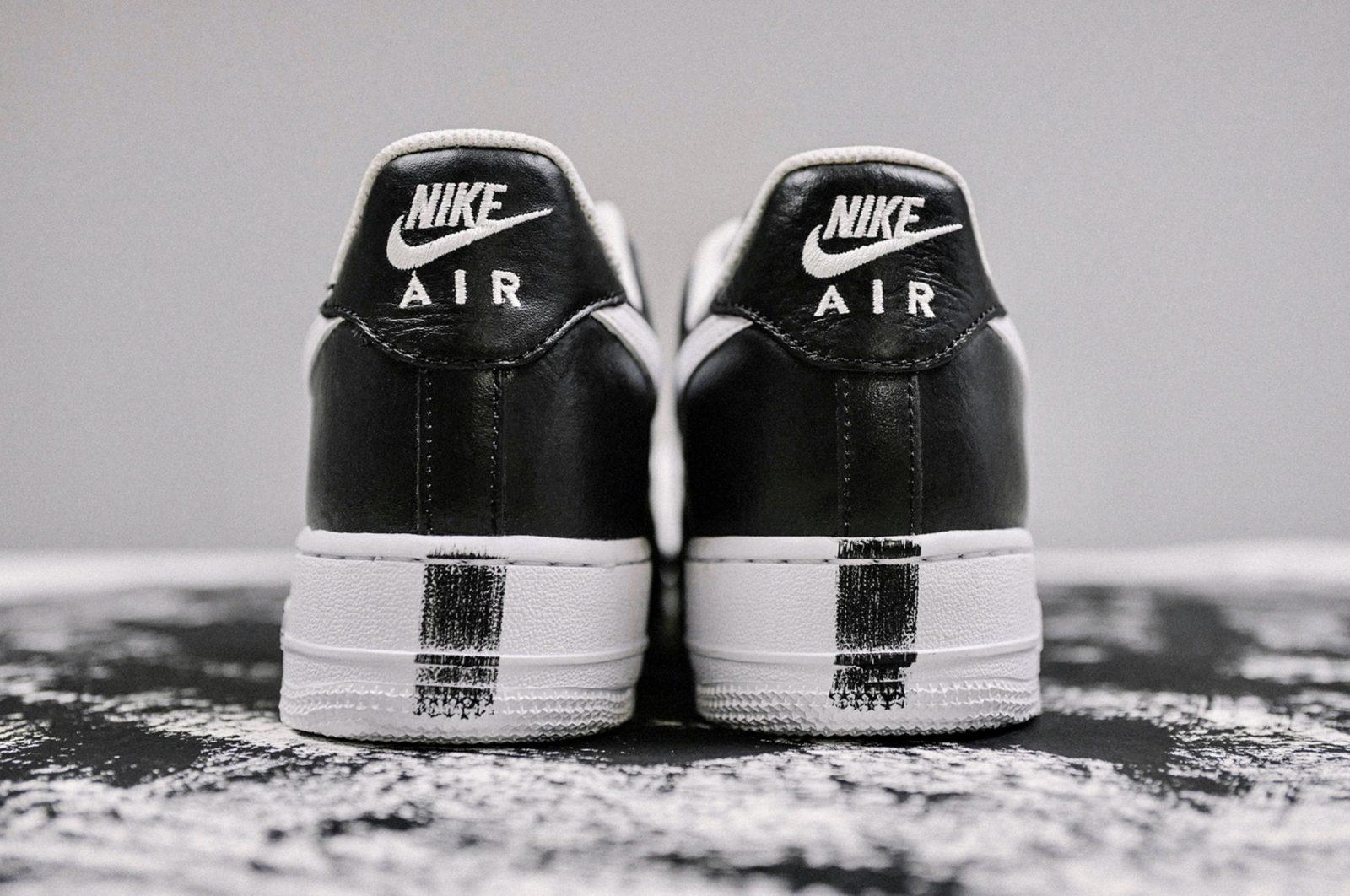 The PEACEMINUSONE x Nike Air Force 1 '07 Will Be Arriving This Week 8 heel