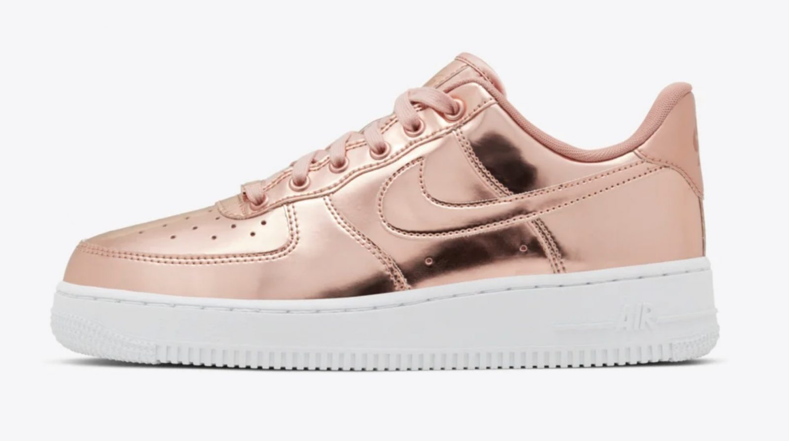 The Wait Is Over For This Metallic Bronze Nike Air Force 1!
