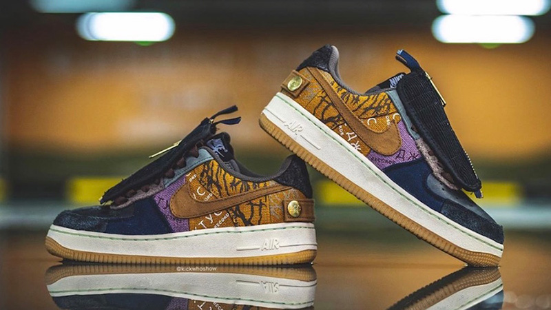 reputable site factory outlets new york Travis Scott x Nike Air Force 1 Low Cactus Jack | CN2405-900 | The ...