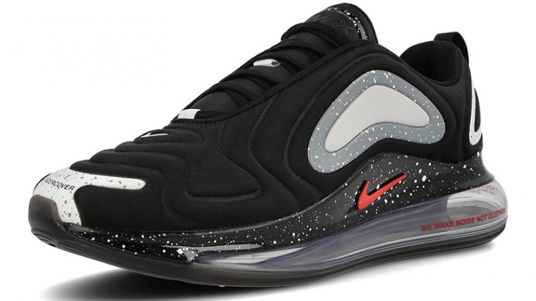 Undercover x Nike Air Max 720 Black CN2408-001 front thumbnail image