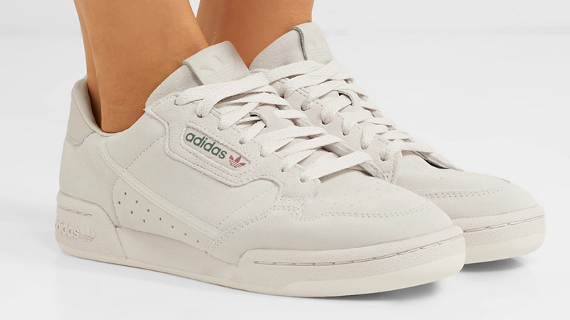 adidas Continental 80 Off-White on foot
