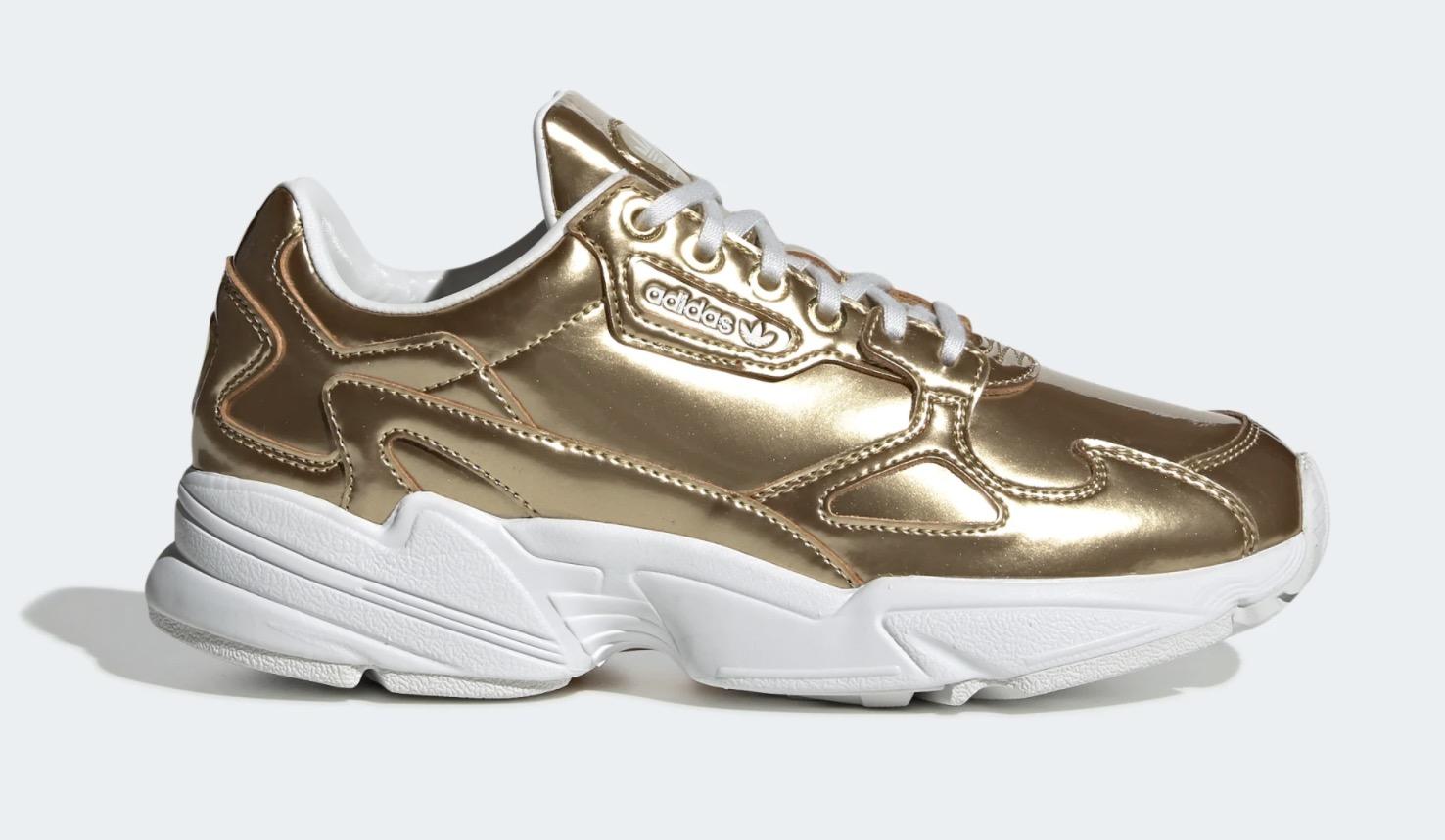 adidas Falcon Gold Metallic