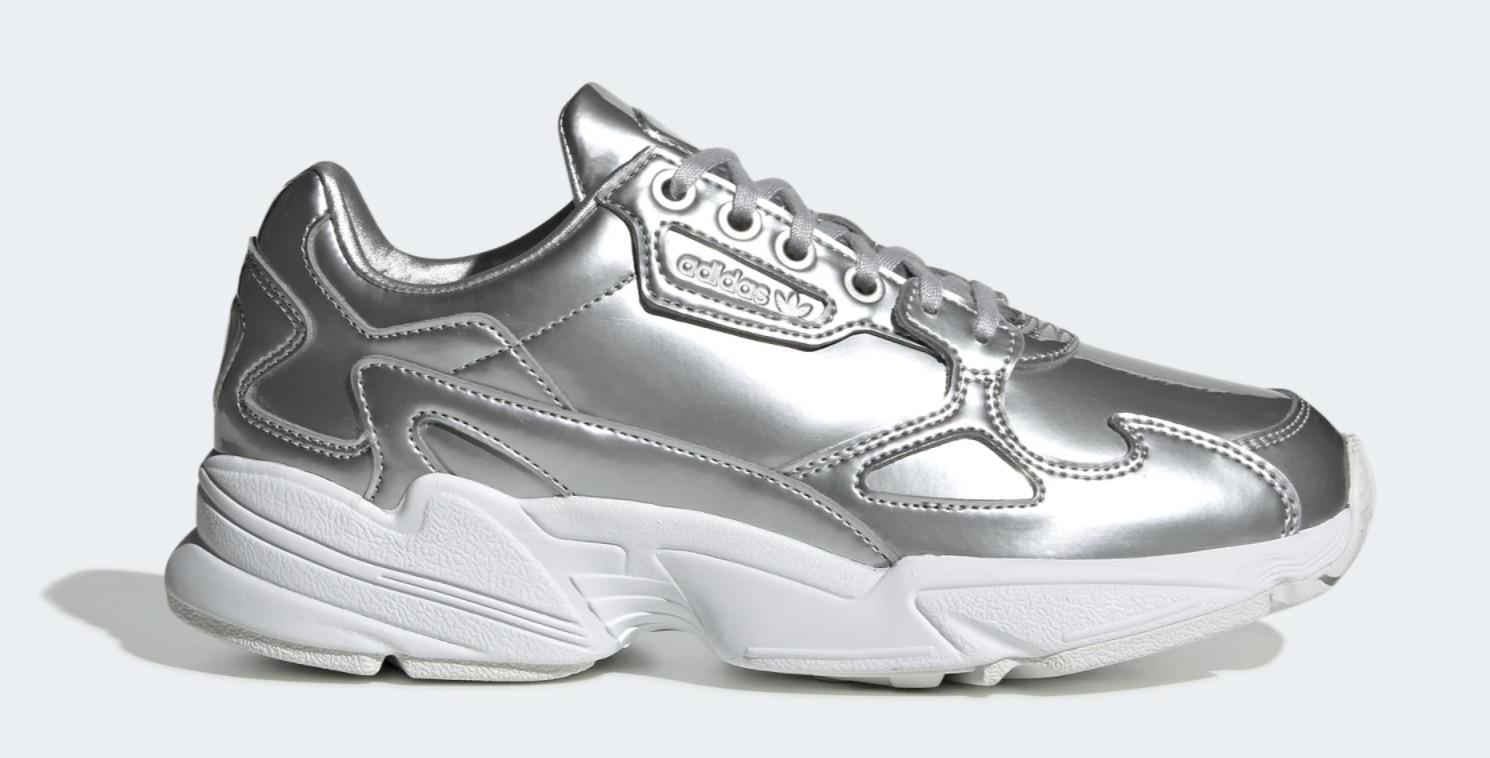 adidas Falcon Silver White