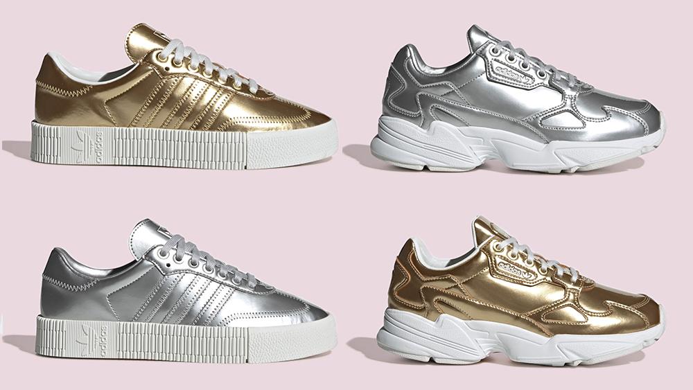 adidas Metallic Sambarose Falcon