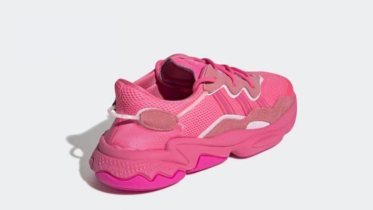 adidas Ozweego Bright Cyan EE5395 back thumbnail image