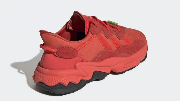 adidas Ozweego TR Red EE7000 back thumbnail image