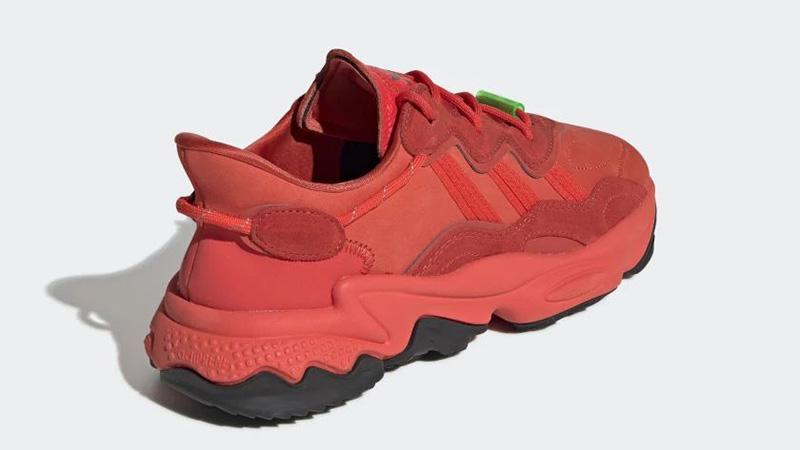 adidas Ozweego TR Red EE7000 back