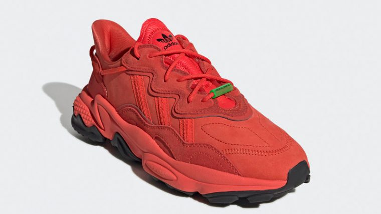 adidas Ozweego TR Red EE7000 front thumbnail image