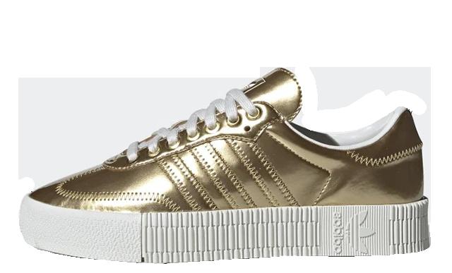 adidas Sambarose Metallic Gold FV4319