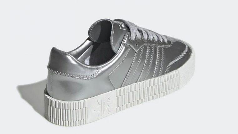 adidas Sambarose Metallic Silver FV4325 back thumbnail image
