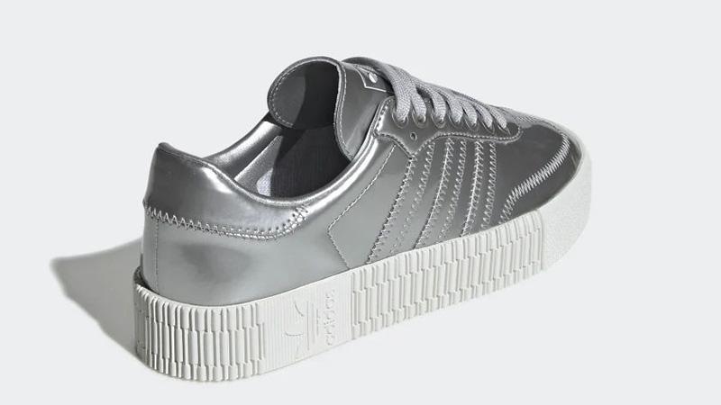 adidas Sambarose Metallic Silver FV4325 back