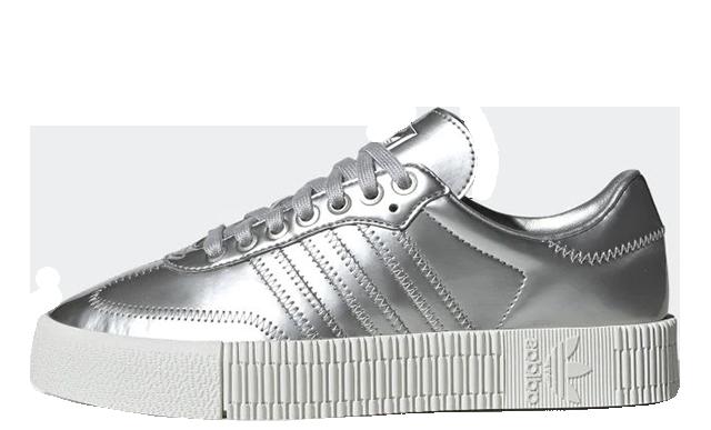 adidas Sambarose Metallic Silver FV4325