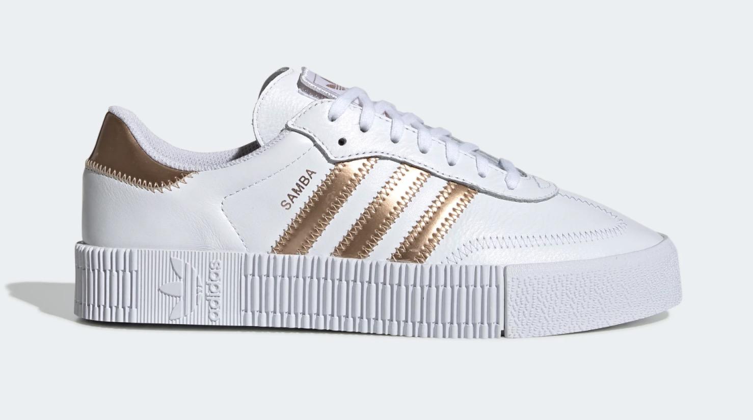 adidas Sambarose White Gold