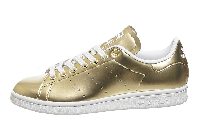 adidas Stan Smith Trainers Gold