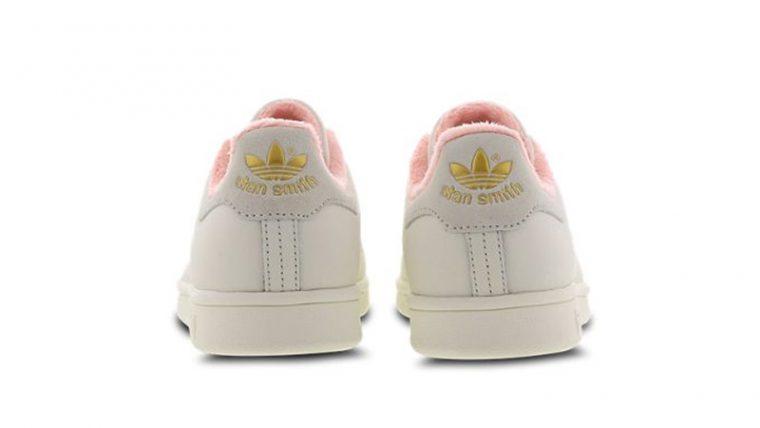 adidas Stan Smith White Pink EG6761 back thumbnail image