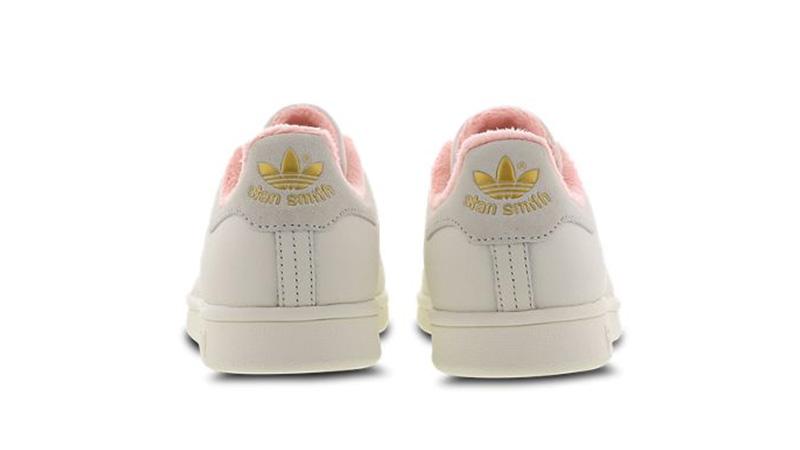 adidas Stan Smith White Pink EG6761 back