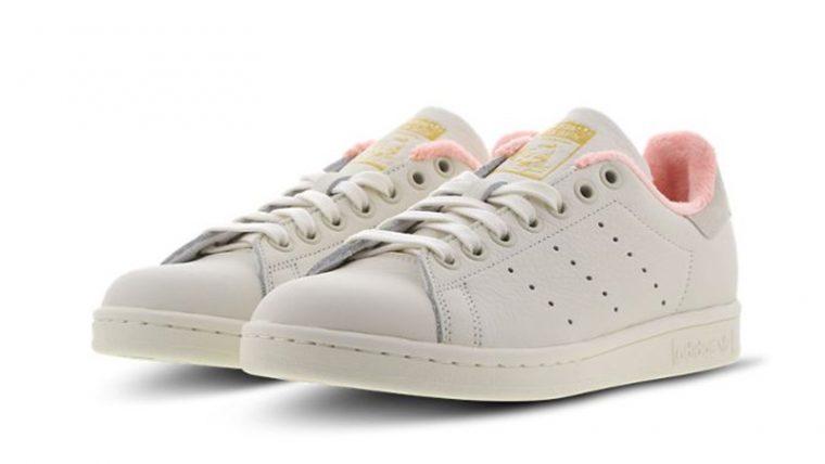 adidas Stan Smith White Pink EG6761 front thumbnail image
