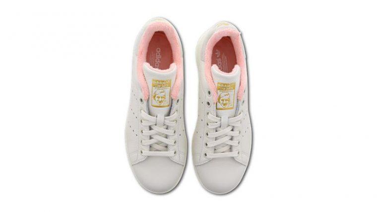 adidas Stan Smith White Pink EG6761 middle thumbnail image