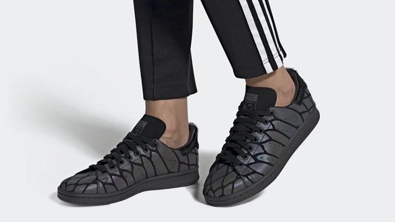 adidas Stan Smith XENO Black FV4044 on foot