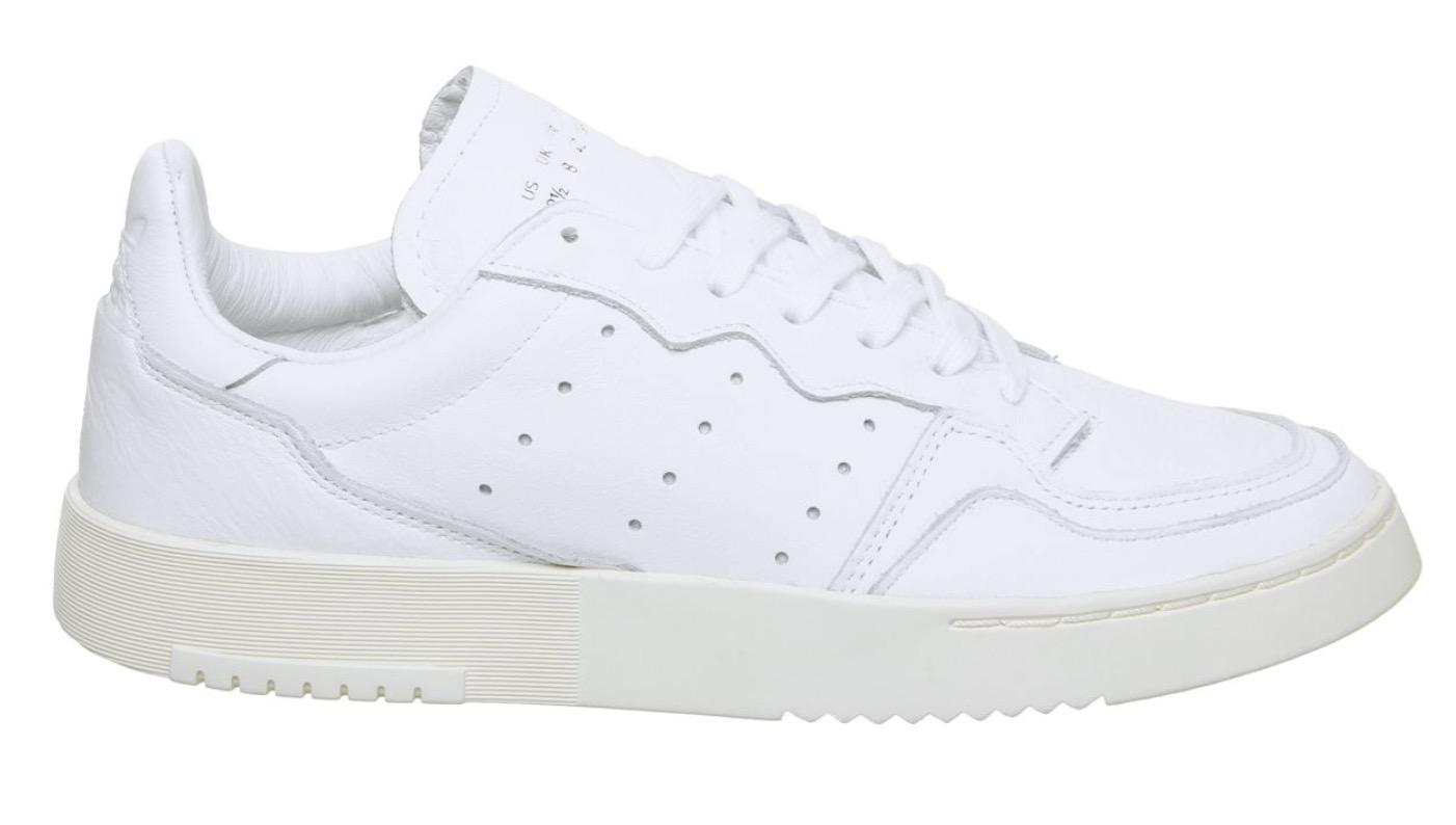adidas Supercourt Triple White