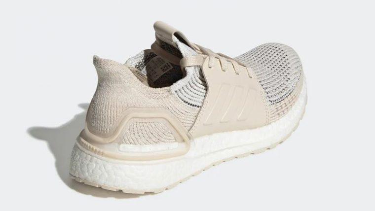 adidas Ultra Boost 19 White Lilen G27492 back thumbnail image