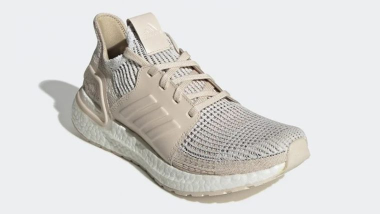 adidas Ultra Boost 19 White Lilen G27492 front thumbnail image